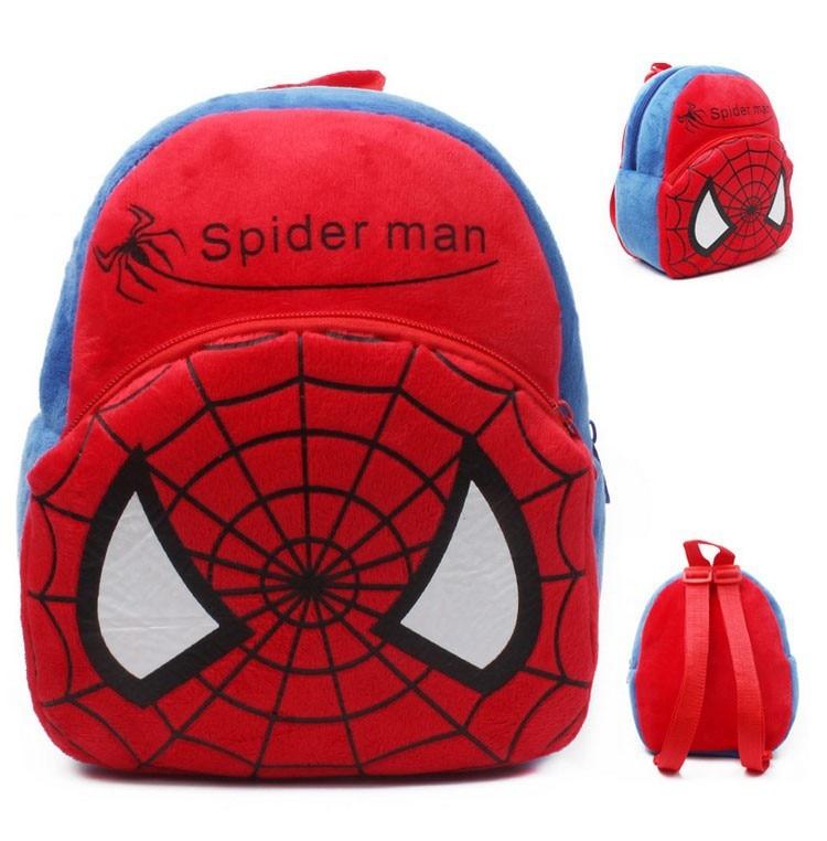 Baby Bag Batman Supperman gyerekek szabadtéri Mini pelenka táska tároló táskák Infantil fiúk lányok puha pamut hátizsák fél karácsonyi ajándék