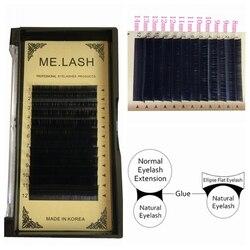 535d13d3bc4 LASH 1 tray Mixed Size Flat Ellipse C D Curl Eyelash Extension Matte  Finished Soft
