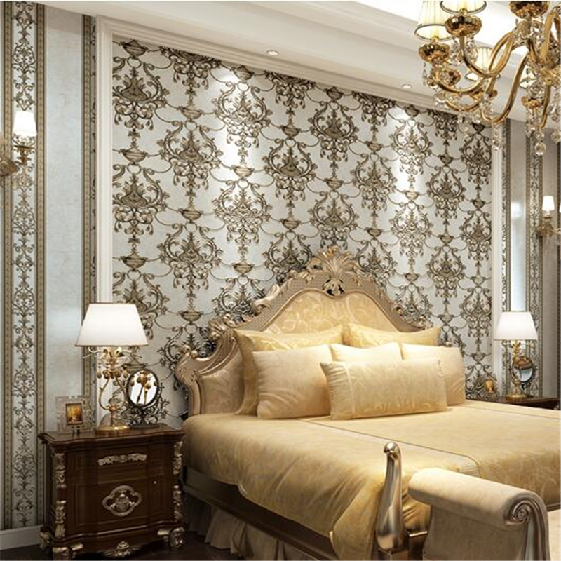 ФОТО  beibehang papel de parede Simple three-dimensional square lattice deer skin texture bedroom living room TV background wallpaper