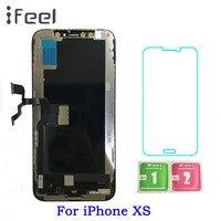 ЖК дисплей для iPhone XS + сенсорный экран с заменой дигитайзера в сборе Бесплатная доставка
