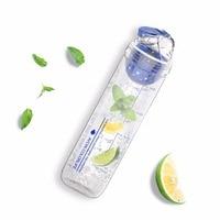 AVOIN Colorlife 800ml Sport Bottle Fruit Infuser Water Bottle New Design Plastic Drinking My Bottle Outdoor