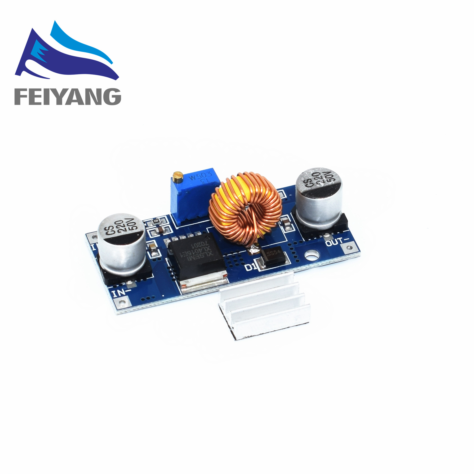 10 Pcs Rob Samiore Xl4015 5a Dc Step Down Ajustvel Power Module Abastecimento Carregador De Ltio