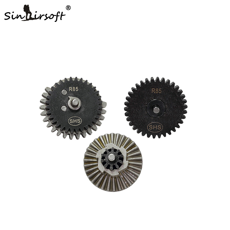 SINAIRSOFT SHS Steel CNC Machining R85 Original Torque Speed Gear Set For R85 L85 AEG Airsoft Gearbox Paintball Hunting