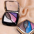 High Quality Diamond Eye Shadow Earth Colors 4 Colors Plate for Beauty 10pcs/lot
