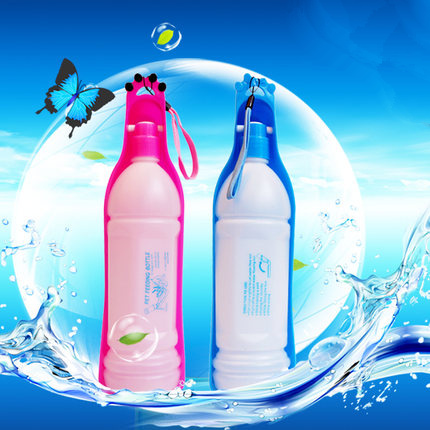 Free Shipping New Brand 250ml&500ml Hot Sell Portable Feeding Bottle Pet Dog Water Outdoor Travelling For Dogs Cats