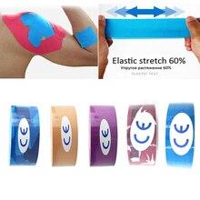 все цены на 2.5cm*5m Elastic Cotton Kinesiology Tape Adhesive Muscle Bandage Care Physio Cure Injury Support Kinesiology Tape Support онлайн