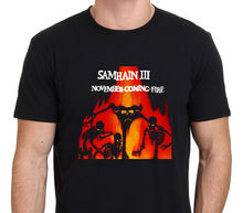 Samhain III November Coming Fire Rock Band Mens Black T-Shirt Size S To 3XL Summer Short Sleeves New Fashion T Shirt
