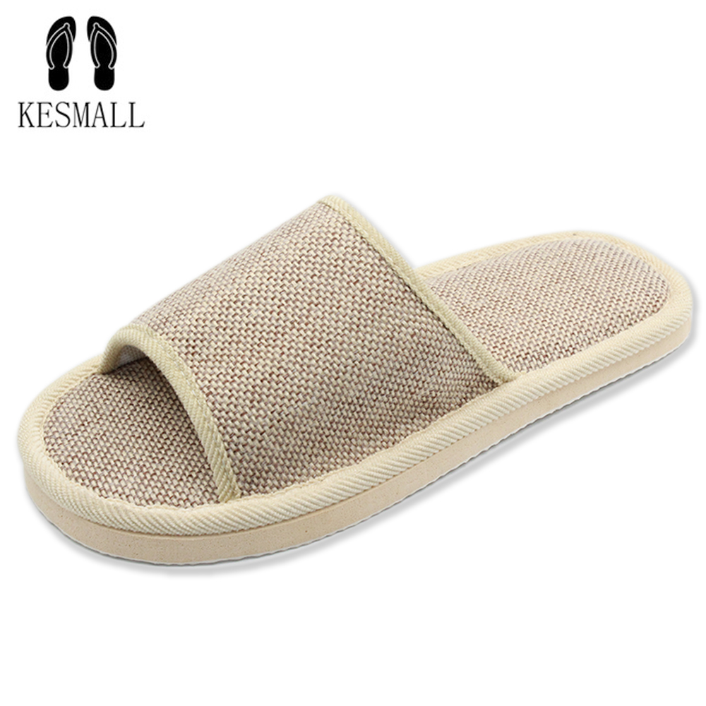 2017 Natural Flax Home Slippers Indoor Floor Shoes Silent Sweat Slippers For Summer Women Sandals Slippers WS301 2017 fashion flax home slippers indoor floor shoes belt silent sweat slippers for summer women sandals unisex flip flops af433