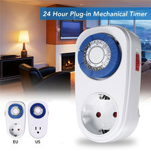 New 220V Electronic Digital Timer Switch EU US Plug Kitchen Smart Power Timer Outlet Programmable Timing Socket Wholesale Price