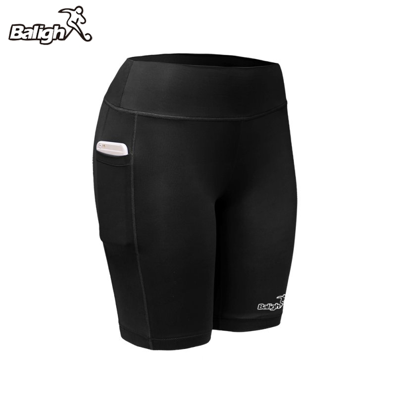 Balight Women Sports Shorts Quick Dry High Elasticity Sports Pants Comprehensive Training Female's Shorts Black Blue Gray