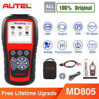 Autel MD805 OBD2 Auto Scanner Diagnostic Tool OBD 2 Car Diagnostic Scanner Eobd Automotivo Automotriz Automotive Car Scan Tools
