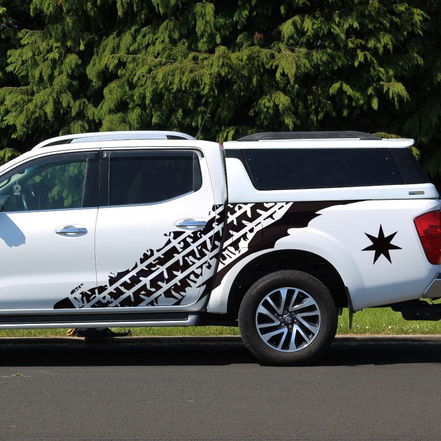 Sale mudslinger pneu boue route voiture corps pick-up graphique Vinyle autocollant 4x4 voiture autocollant