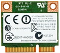 Broadcom BCM943228HMB 802.11a/g/n/b Dual Band 300 Mbps Half Tamanho Sem Fio Mini PCi-Express Pci e Cartão Wi-fi com Bluetooth 4.0