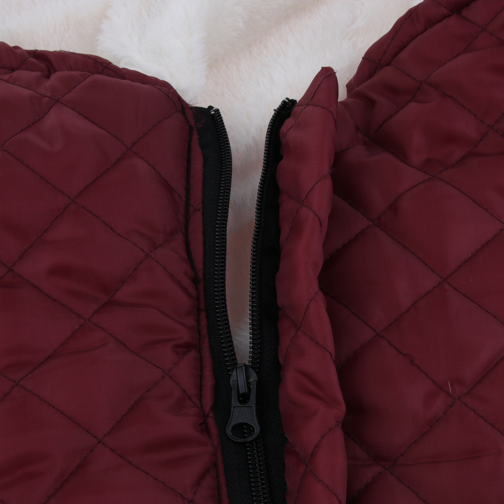 Plush Fleece Lining Wheelchair Warmer Cover Wheel Chair Blanket Winter Leg Foot Back Warm Bag for