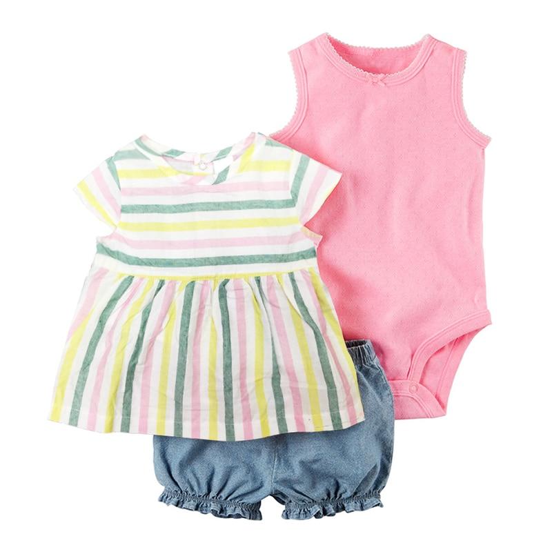 5c48d6465 Aliexpress.com   Buy 2018 Baby Girl Clothing Set Summer Newborn ...