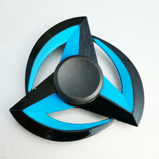 New Zinc Alloy Metal Fidget Spinner Creative Ninja Shuriken Darts Sharingan Shape Hand Spinner Gyro For Kids Stress Relief Toys