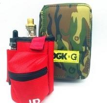 FYF73 E cigarette Vapor Pocket E Cig Case Double Deck Vapor bag vape mod carrying case for E Cigs