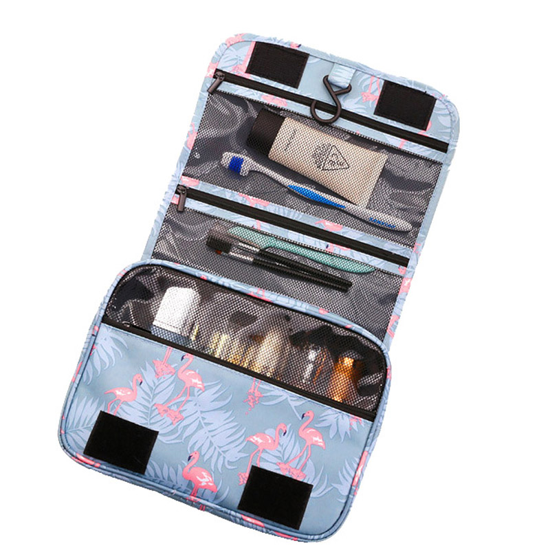 OLAGB High Quality Women Men Large Waterproof Makeup Bag  Women Toiletries Bag  Men Travel Wash Kit Beauty Cosmetic Bag Z130(China)