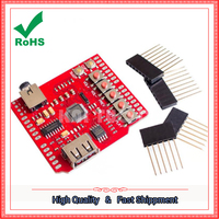 USB SD MP3 Shield USB SD Card MP3 Player Expansion Board Module