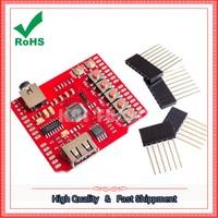 USB SD MP3 Shield USB SD Card MP3 Player Expansion Board Module