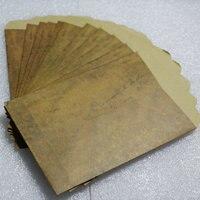 100PCS 15 5 10 8cm Postcards Envelope Pouch Wax Paper Envelopes With Old Retro Color