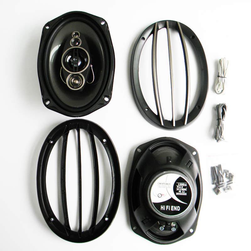 """Selbstlos Top Qualität Leistungsstarke 1200 Watt 6x9 """"auto Lauterer Koaxial-lautsprecher, Hallo Fi Ende Auto Auto Audio Acoustic Lautsprecher Horn Rheuma Lindern"""