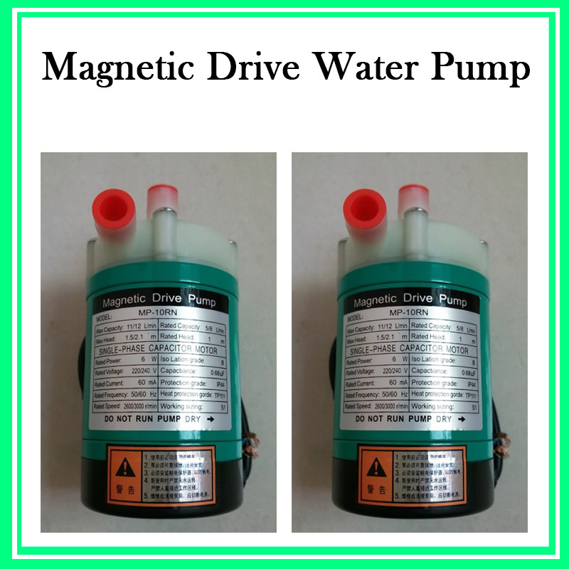 ФОТО MP-6RZ Plastic Acid Resistance Magnetic Drive Water Pump Pure Water Production Electromagnetic Pump 220V 50HZ
