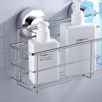 Stainless steel shelves bathroom shower shelf dual sucker bathroom shelf wall mount shelf shampoo holder basket.jpg 200x200