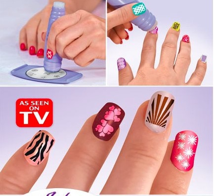 Fashion Salon Express Pro Nail Art Stamping Set Nail Decoration