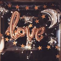 40 بوصة إلكتروني الألومنيوم بالون عيد الحب الزفاف غرفة الزواج حفلة ديكور شحن مجاني