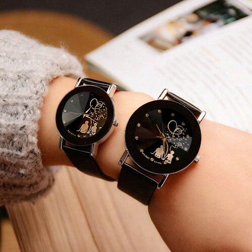 Yazole liebhaber quarzuhr frauen männer marke berühmten armbanduhr weiblich Männlich Uhr Damen Uhren für Frau Mann 1 Para = 2 stück