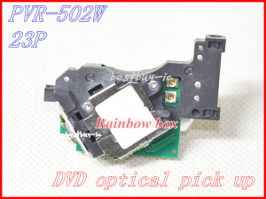 2pcs/lot Original New Laser Len For Mitsumi PVR-502W 23P Optical Pick Up PVR502W PVR-502 23 Pins DVD Laser Lens PVR 502W Bloc