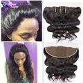 Cheap Lace Frontal Closure Peruvian Lace Frontal 100% Human Hair Frontal Peruvian Body Wave Lace Frontal Closure