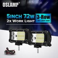 Oslamp 72 W Feixe De Inundação 5