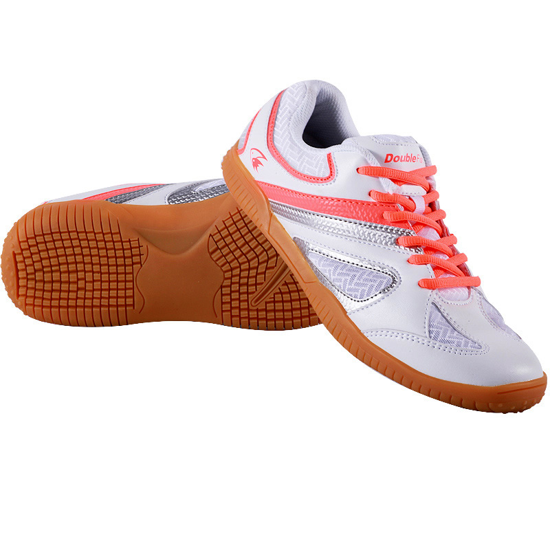 New Arrival Double fish professional table tennis Shoes ping pong Sneakers Breathable skip resistance cushioning for Men Women aldomour breathable volleyball shoes sneakers stability anti slip ping pong shoes breathable table tennis shoes volleyball shoes