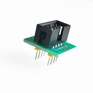 Image 2 - Güncelleme sürümü SOIC8 SOP8 Test klipsi EEPROM 93CXX / 25CXX / 24CXX in circuit programlama + 2 adaptörleri