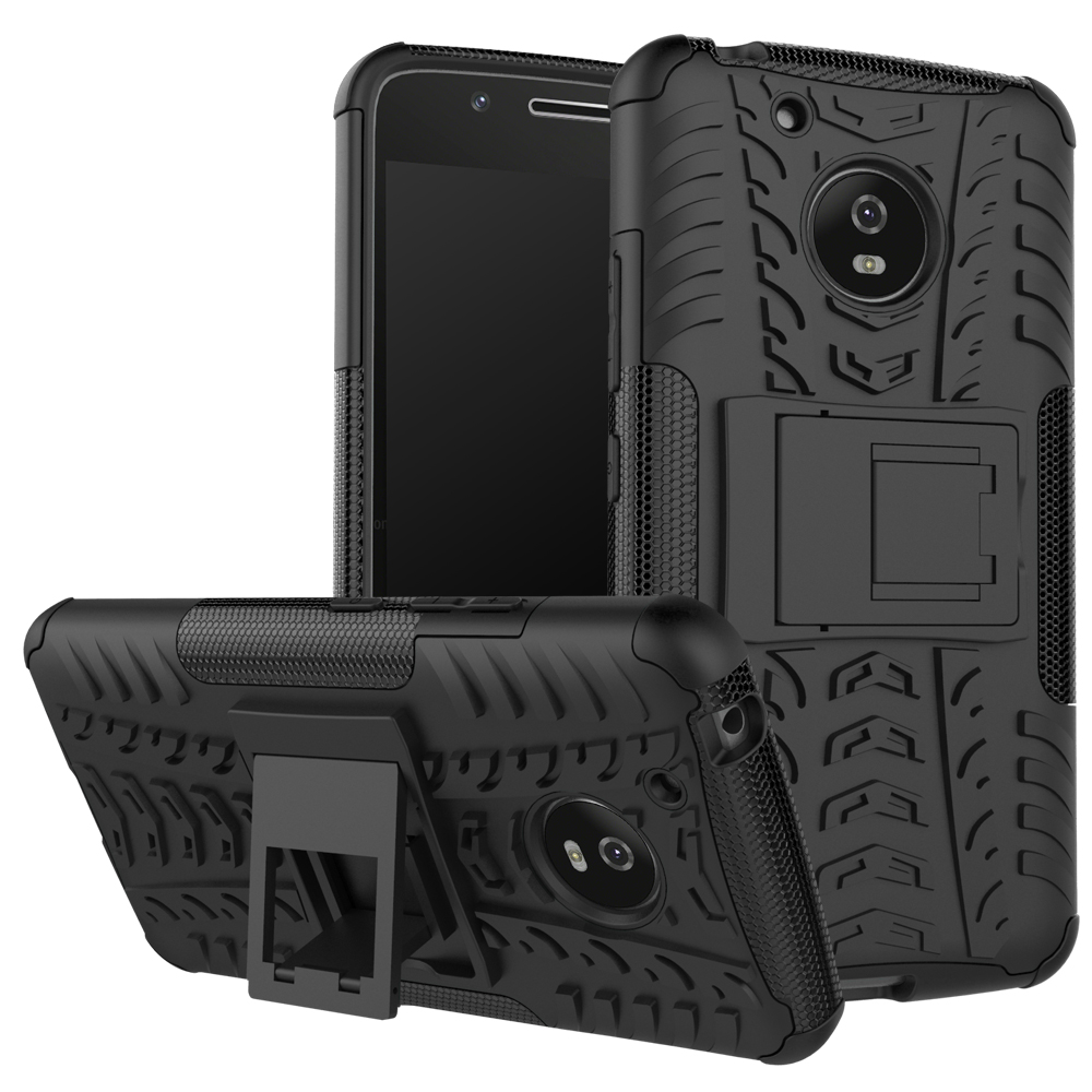 Hevry Tough Rugged Dual Layer Heavy Duty Armor Case for Motorola Moto G5 5.0 inch Heavy Duty Armor Tough Kickstand Case Cover