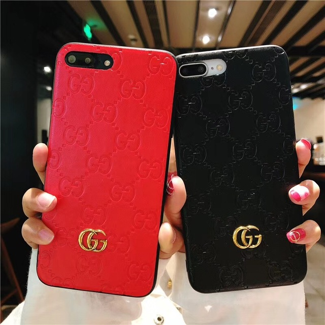 cheap for discount 72d14 ca244 Luxury Brand Printing Mobile Phone Case for iPhone 6 6s 7 7s 8 plus X 10  Case Soft Drop Protection Cover Vintage Business Plain-in Phone Bumper from  ...