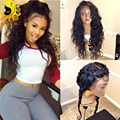 7A Full Lace Human Hair Wigs For Black Woman Brazilian Virgin Hair Water Wave Full Lace Wigs Glueless Lace Front Human Hair Wigs