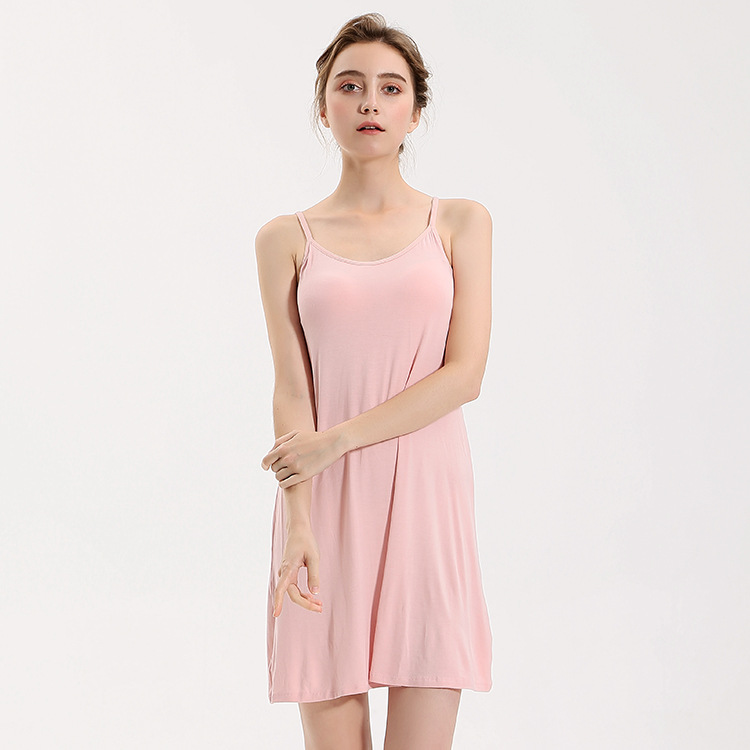 Nightgowns   &   Sleepshirts   Sleepwear Women Women Sleepwear with bra inside 9716