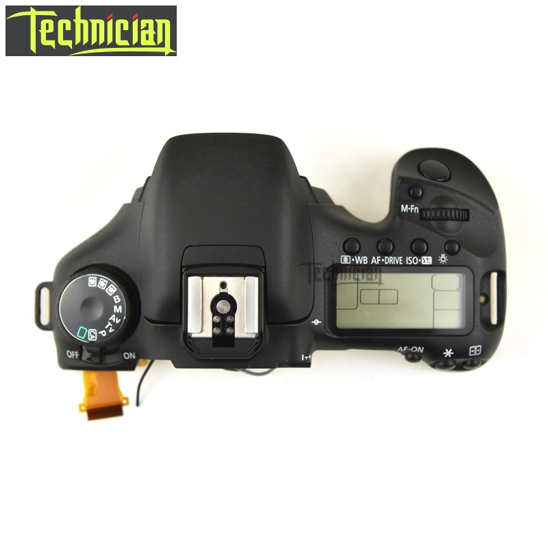 7D Top Cover With LCD and Flex Cable Camera Replacement Parts For Canon