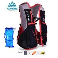AONIJIE 5L Women Men Marathon Hydration Vest Pack For 1 5L Water Bag Cycling Hiking Bag