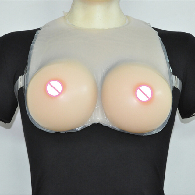 Huge Silicone Breast Form Bra Mastectomy Boob Prosthesis Transvestite Fake Breast Mastectomy Women Intimate Bra Underwear