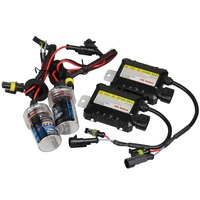 Promotion DC12V 55W H8 H9 H11 Xenon Bulb Kit HID Ballast Auto Car Headlight Lamp For