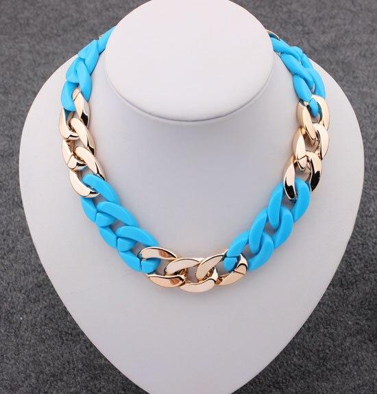 100% Wahr Spiel-rechts 2015 Frauen Colliers Halskette Figaro Kette Halsketten Mode-statement Halskette Schmuck Trends Für Geschenk Party Hochzeit Ausgereifte Technologien