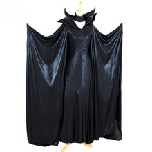 Movie Maleficent  Dress cosplay costume Tailor Made Any Size new fairy tail erza scarlet women cosplay costume any size tailor made free shipping in stock