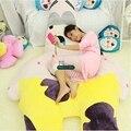 Dorimytrader 255cm X 135cm Giant Stuffed Soft Plush Large Cartoon Patrick Star Bed Carpet Tatami Sofa, Free Shipping DY60556