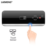 LAIMENG Automatic Vacuum Sealer Packing Machine With Vacuum Bags Roll Food Packaging Vacuum Packer Sous Vide for Kitchen S215|Vacuum Food Sealers| |  -