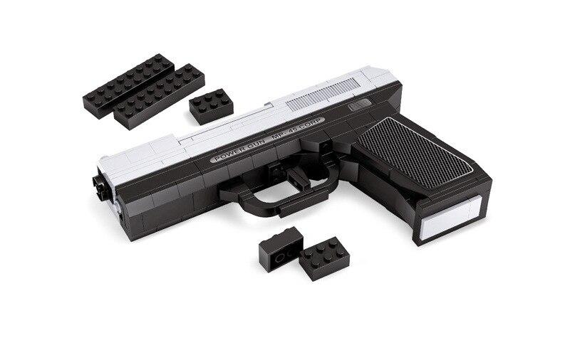 u221anew bricks54 pistol gun  u140a 268 268 puzzle boy assembling plastic toys toys lepin