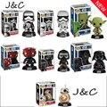 Funko POP BB-8 BB8 Derth Maul Darth Vader de Star Wars Yoda Agitar a Cabeça Bobble cabeça Capitão Phasma Bonito Figuras de Ação Presentes Miúdo brinquedo